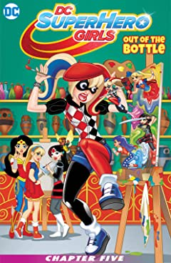 DC Super Hero Girls: Out of the Bottle (2017) #5