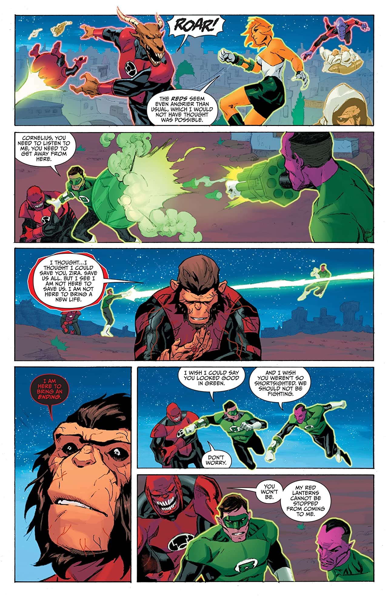 Planet of the Apes/Green Lantern #6 (of 6)