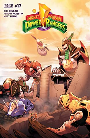 Mighty Morphin Power Rangers No.17