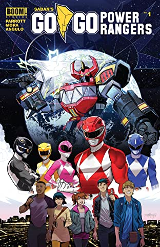 Saban's Go Go Power Rangers No.1