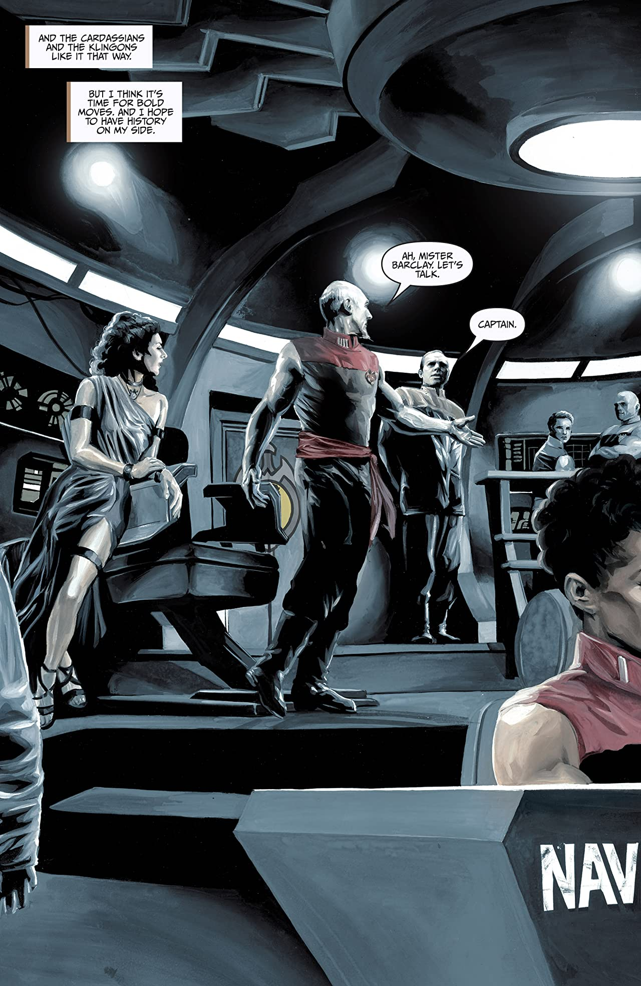 Star Trek: TNG: Mirror Broken #0