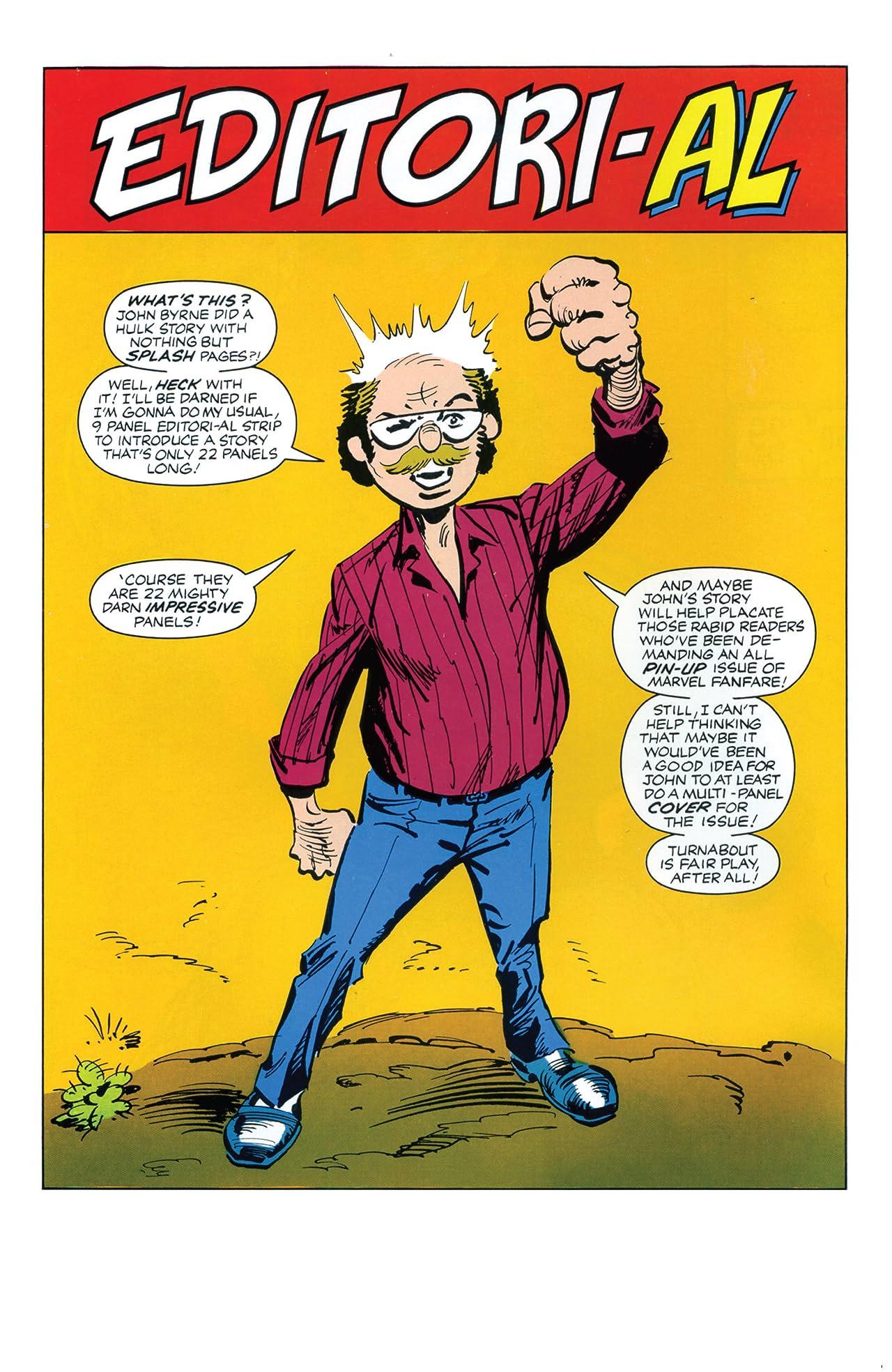Marvel Fanfare (1982-1992) #29