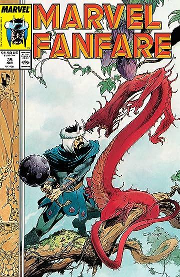 Marvel Fanfare (1982-1992) #35