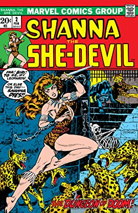 Shanna, The She-Devil (1972-1973) #2