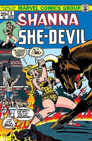 Shanna, The She-Devil (1972-1973) #3