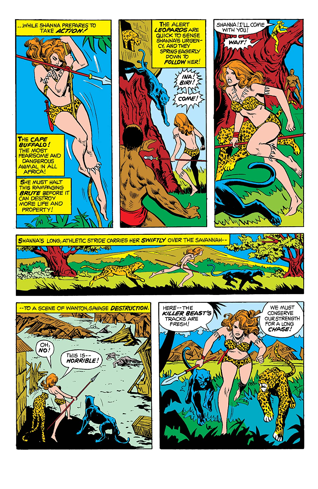 Shanna, The She-Devil (1972-1973) #3