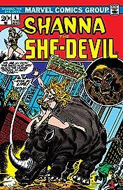 Shanna, The She-Devil (1972-1973) #4