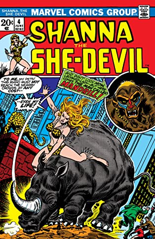 Shanna, The She-Devil (1972-1973) #4
