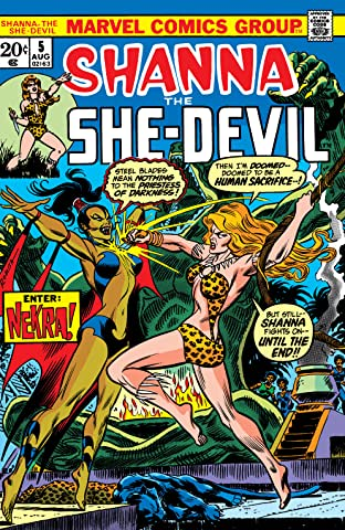 Shanna, The She-Devil (1972-1973) #5