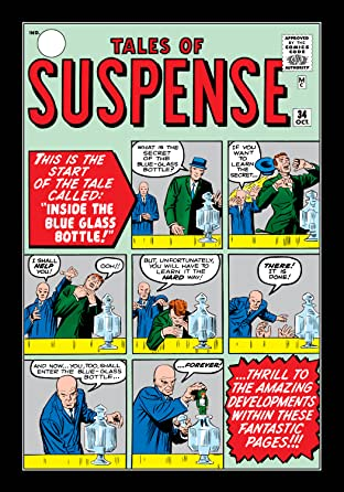 Tales of Suspense (1959-1968) #34