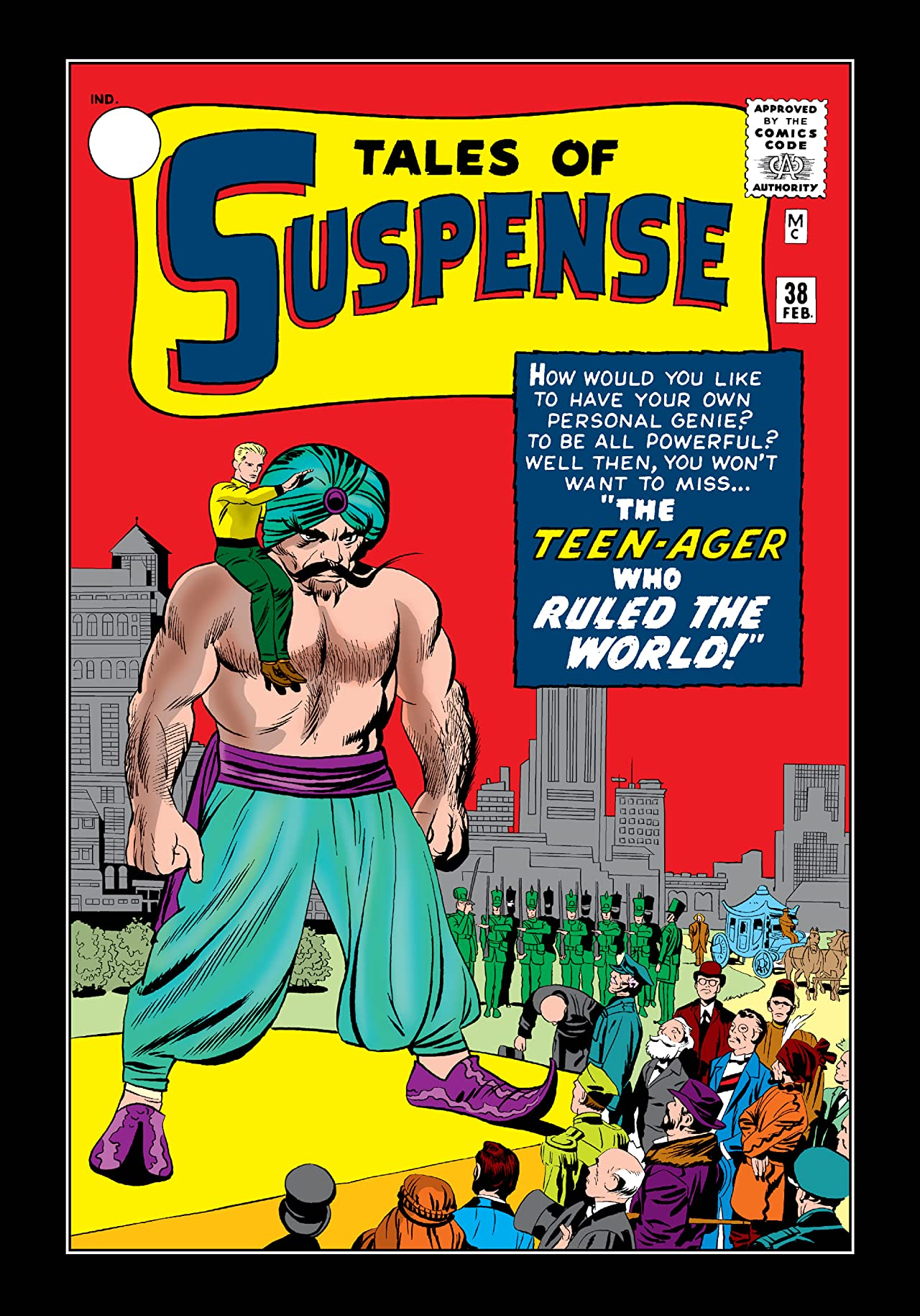 Tales of Suspense (1959-1968) #38
