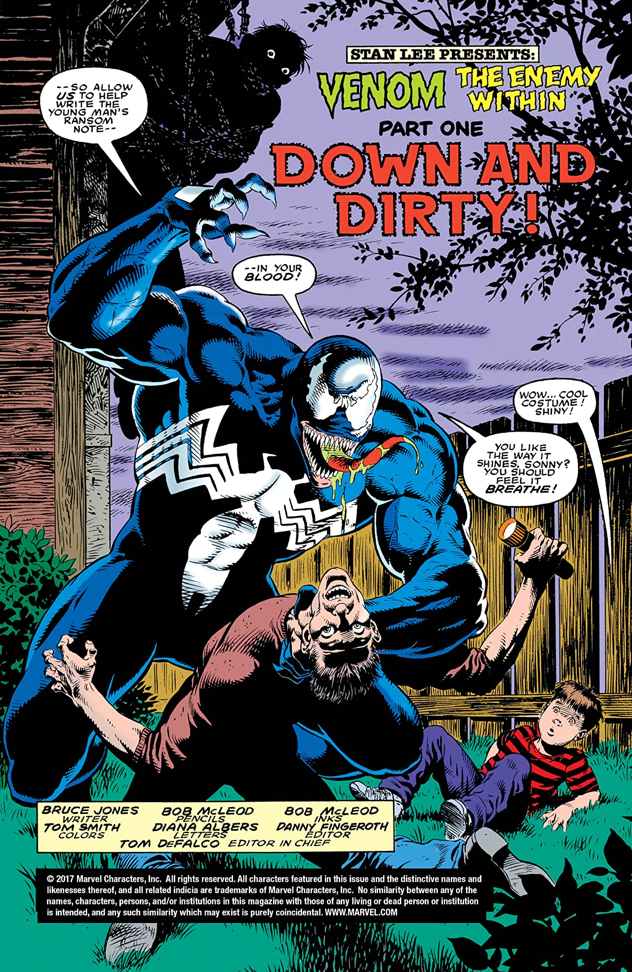 Venom: The Enemy Within (1994) #1 (of 3)