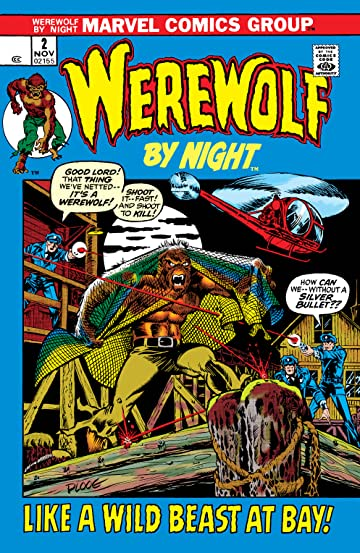 Werewolf By Night (1972-1988) #2