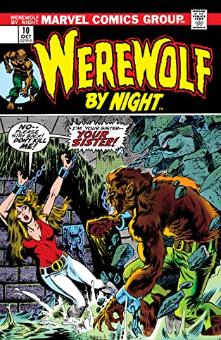 Werewolf By Night (1972-1988) #10