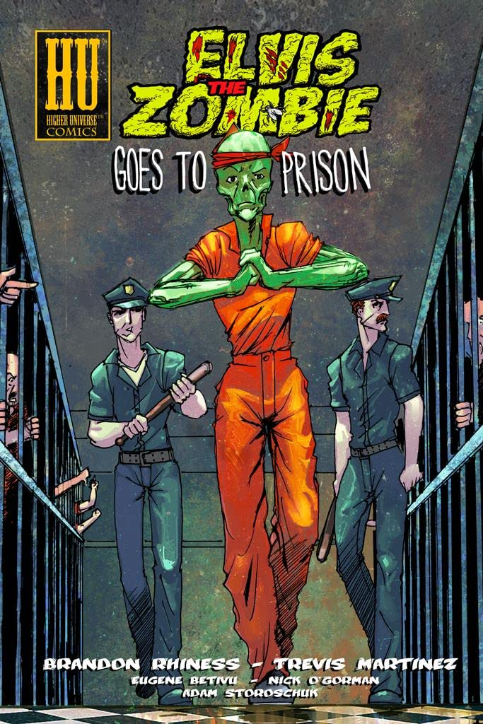 Elvis the Zombie Goes to Prison