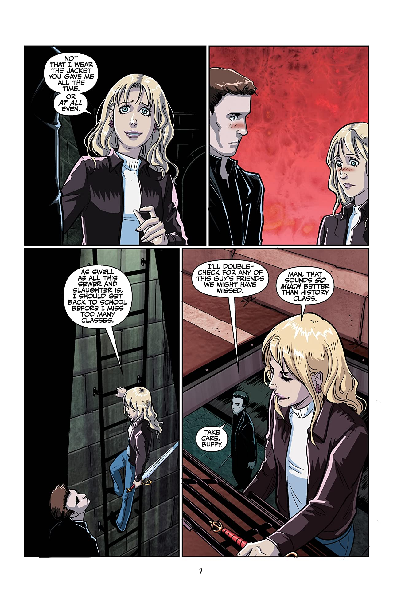 Buffy: The High School Years--Parental Parasite