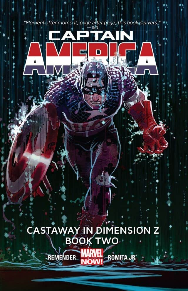 Captain America Vol. 2: Castaway In Dimension Z - Book 2