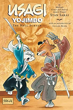 Usagi Yojimbo Tome 31: The Hell Screen