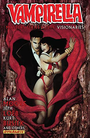 Vampirella Masters Series Vol. 4: Visionaries: Bundle Exclusive Version