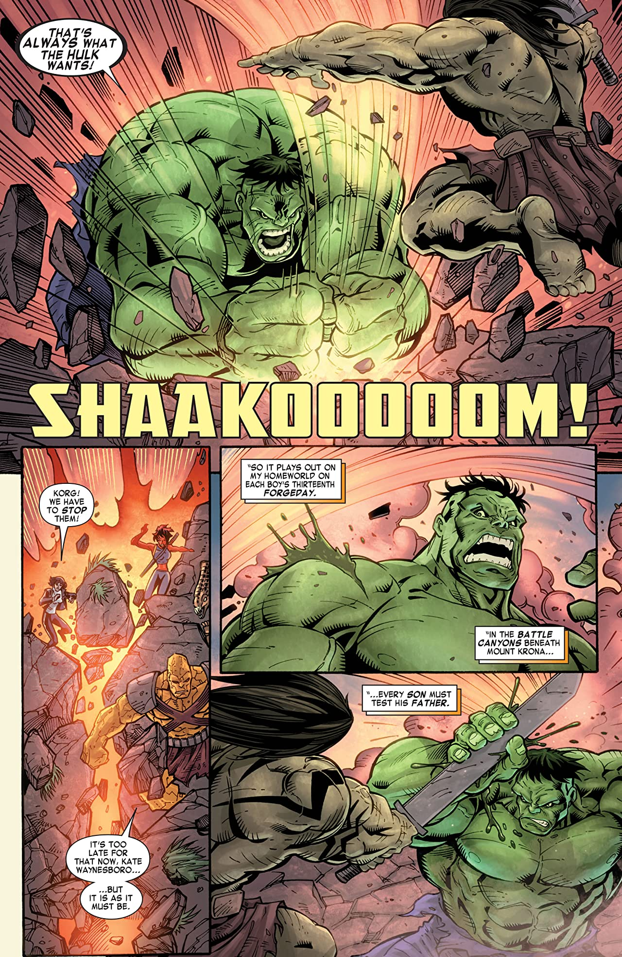 Skaar: Son of Hulk #12