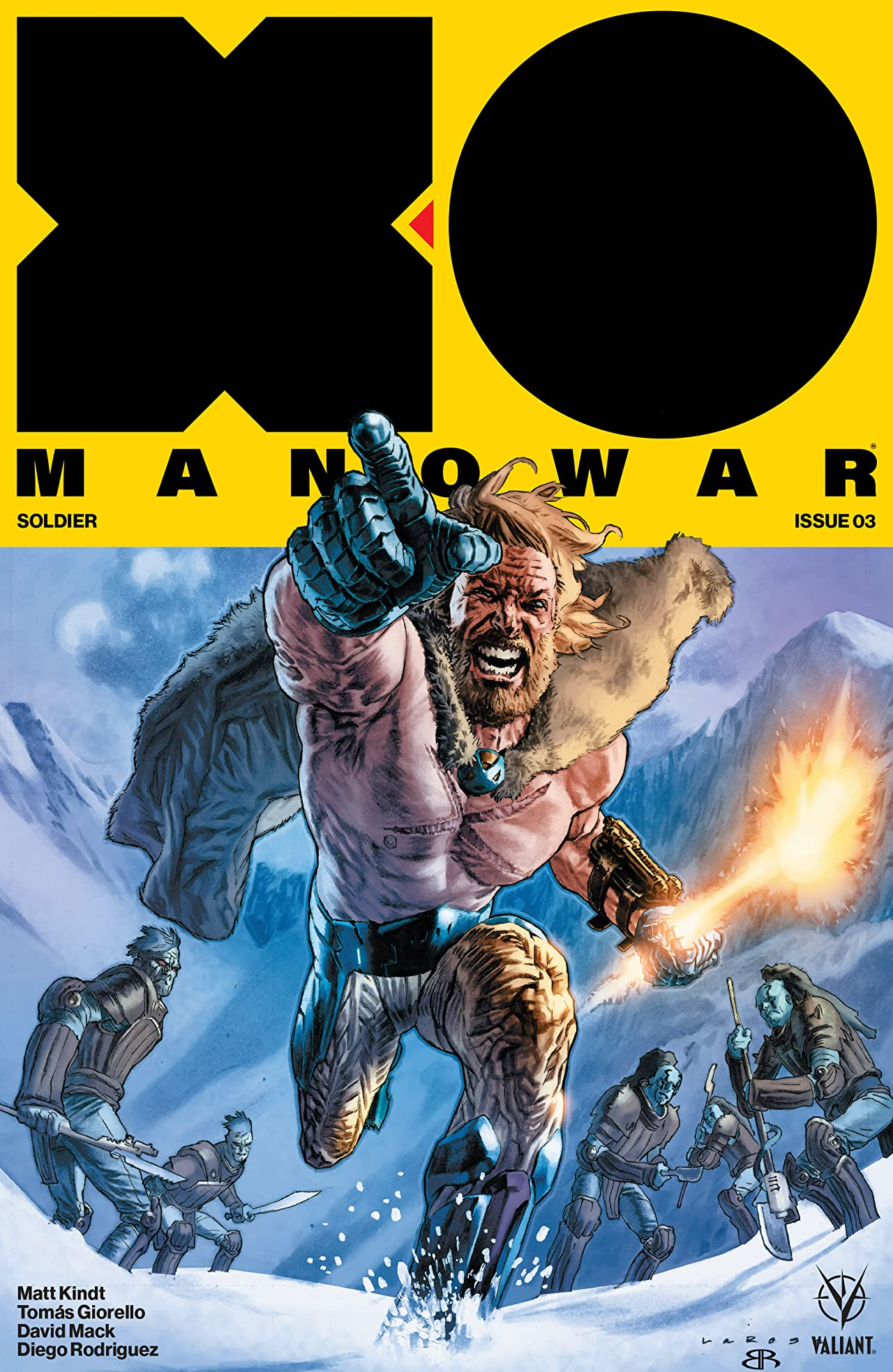 X-O Manowar (2017) #3
