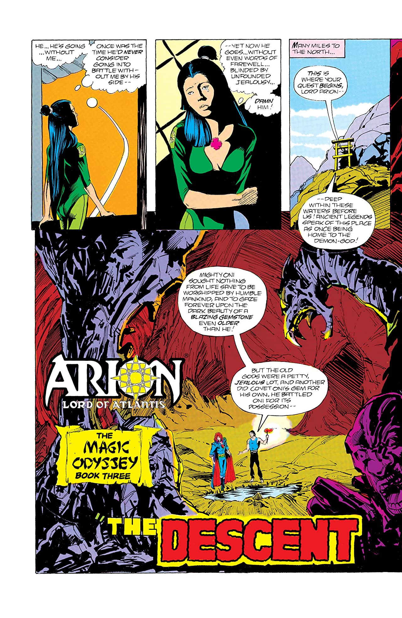 Arion, Lord of Atlantis (1982-1985) #32