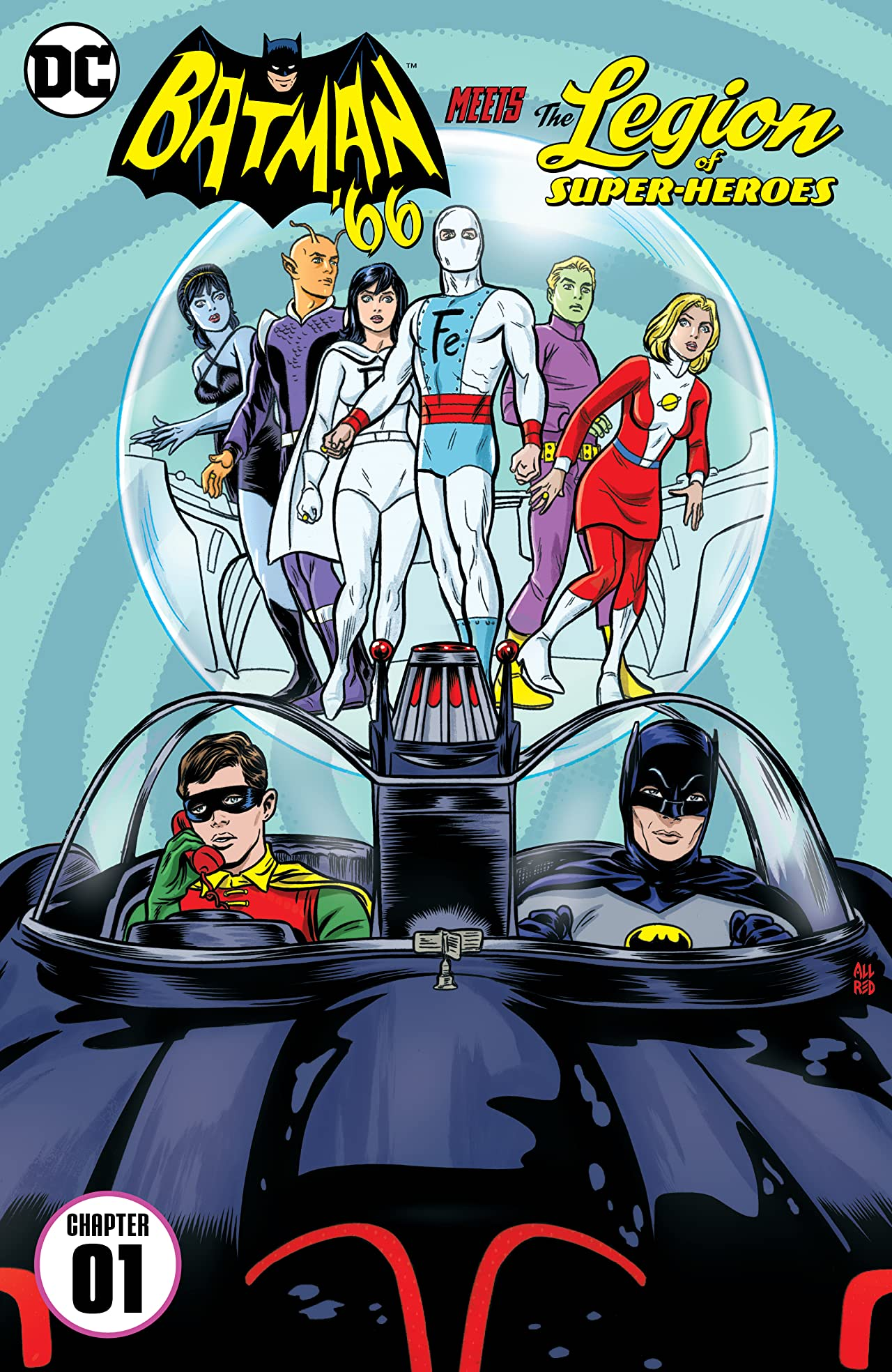 Batman '66 Meets the Legion of Super-Heroes (2017) #1