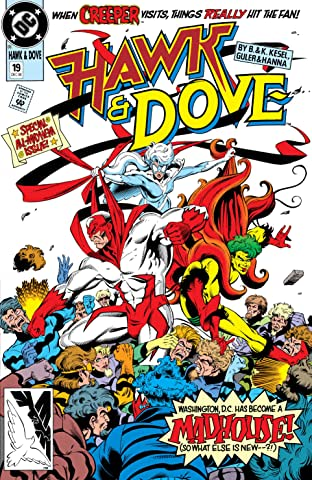 Hawk and Dove (1989-1991) #19