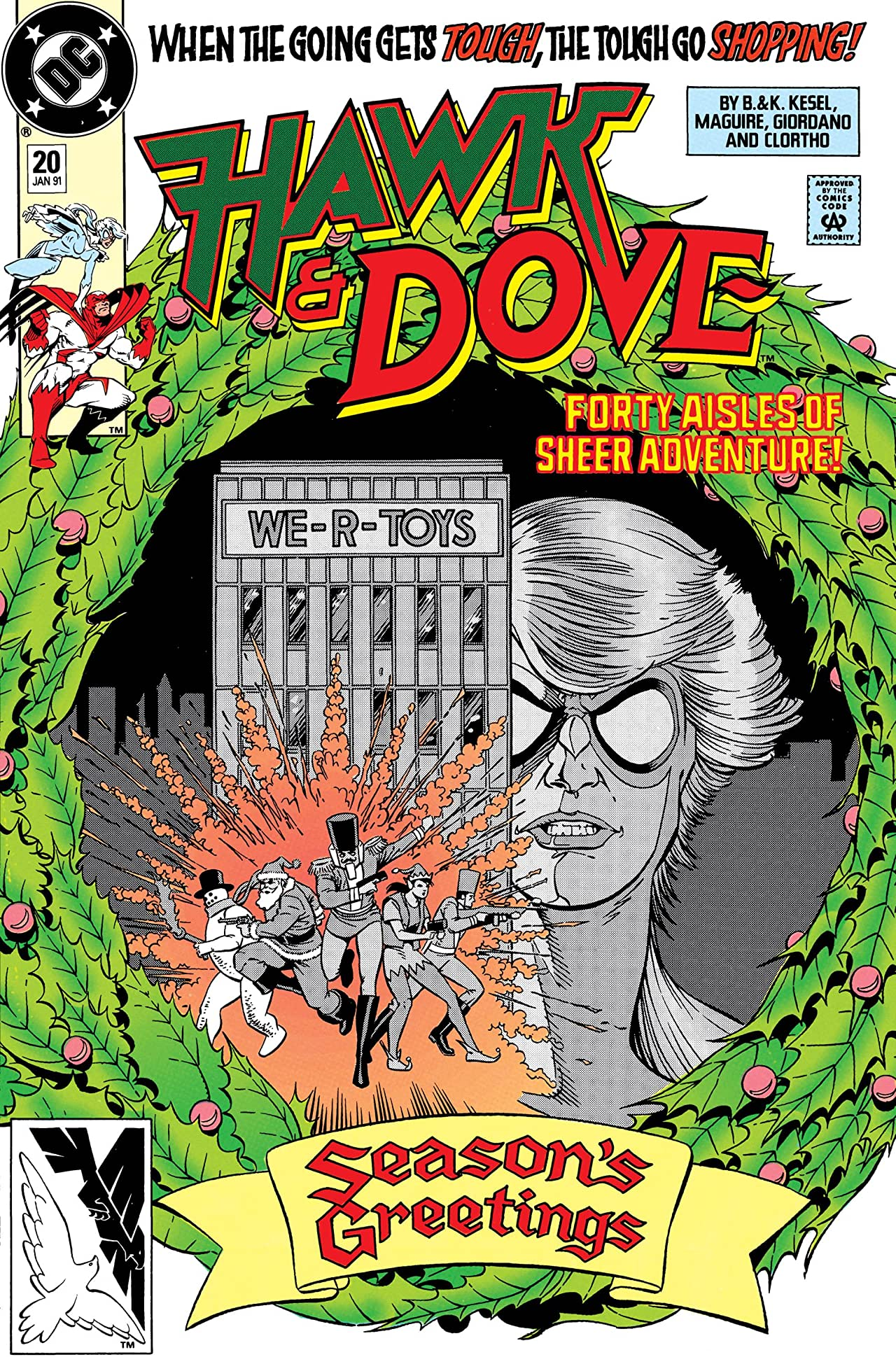 Hawk and Dove (1989-1991) #20