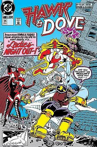 Hawk and Dove (1989-1991) #21