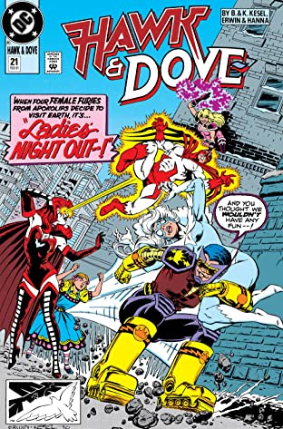 Hawk and Dove (1989-1991) #21