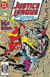 Justice League Europe (1989-1993) #25