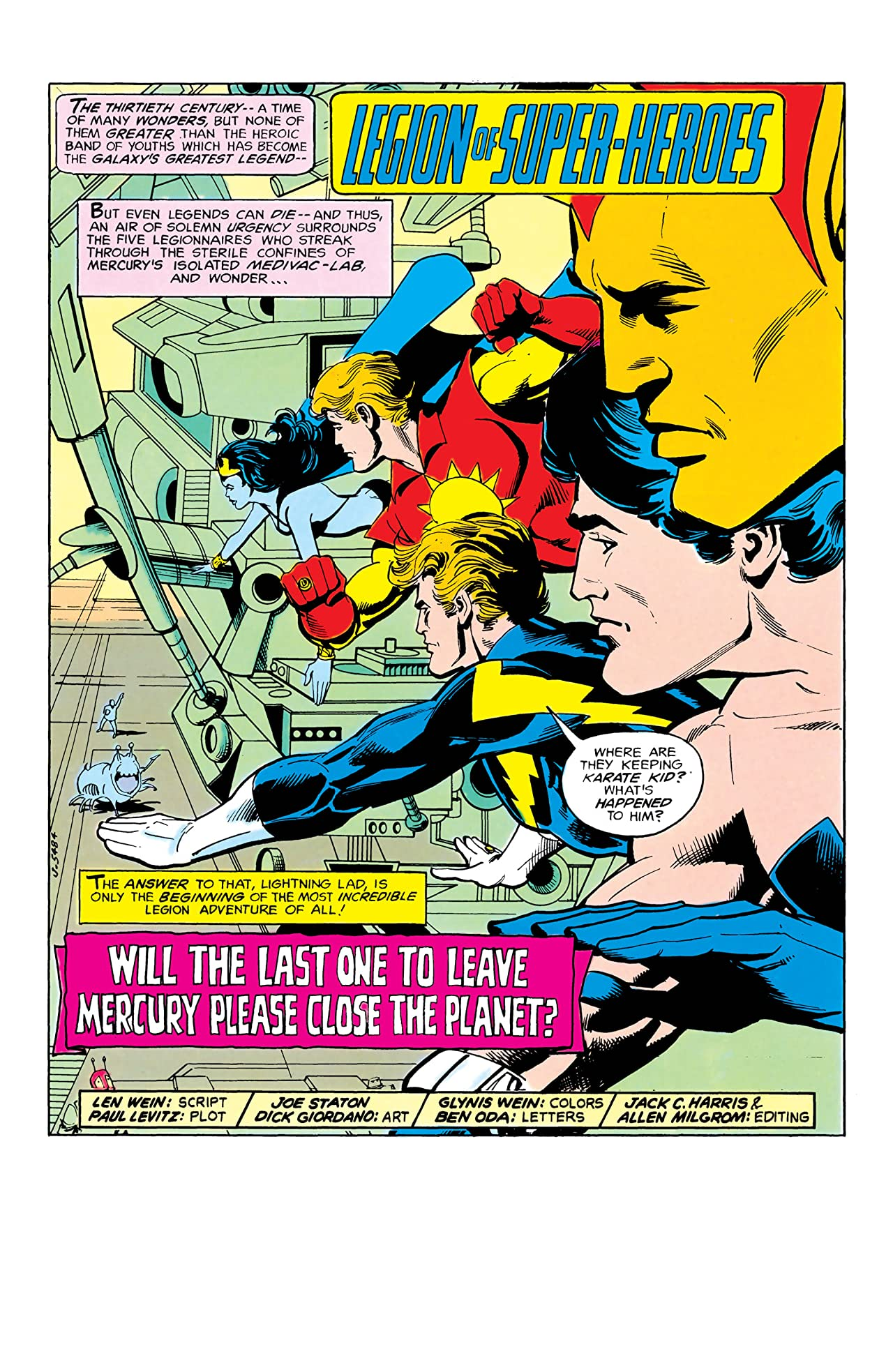 Superboy and the Legion of Super-Heroes (1949-1979) #246