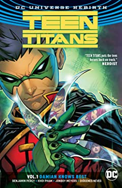 Teen Titans (2016-) Tome 1: Damian Knows Best