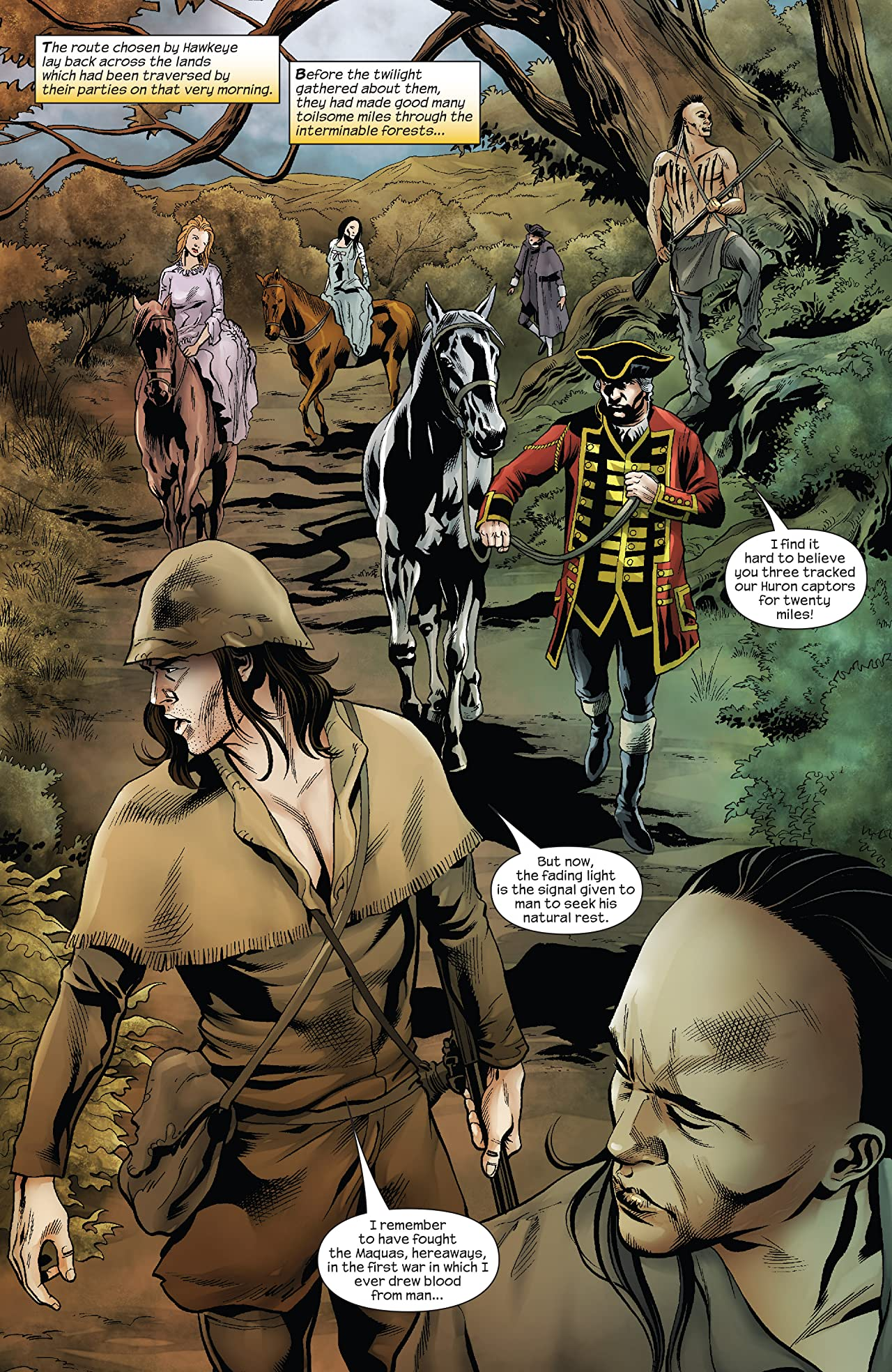 Marvel Illustrated: Last of the Mohicans (2007) #3 (of 6)