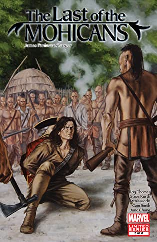 Marvel Illustrated: Last of the Mohicans (2007) #5 (of 6)