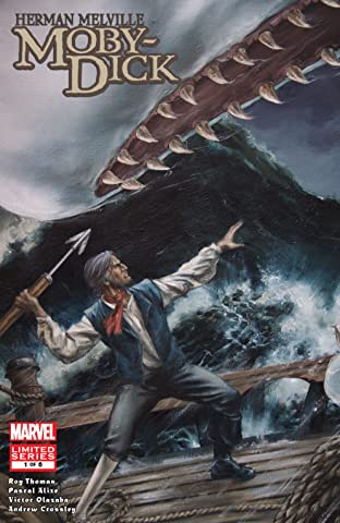 Marvel Illustrated: Moby Dick (2008) #1 (of 6)