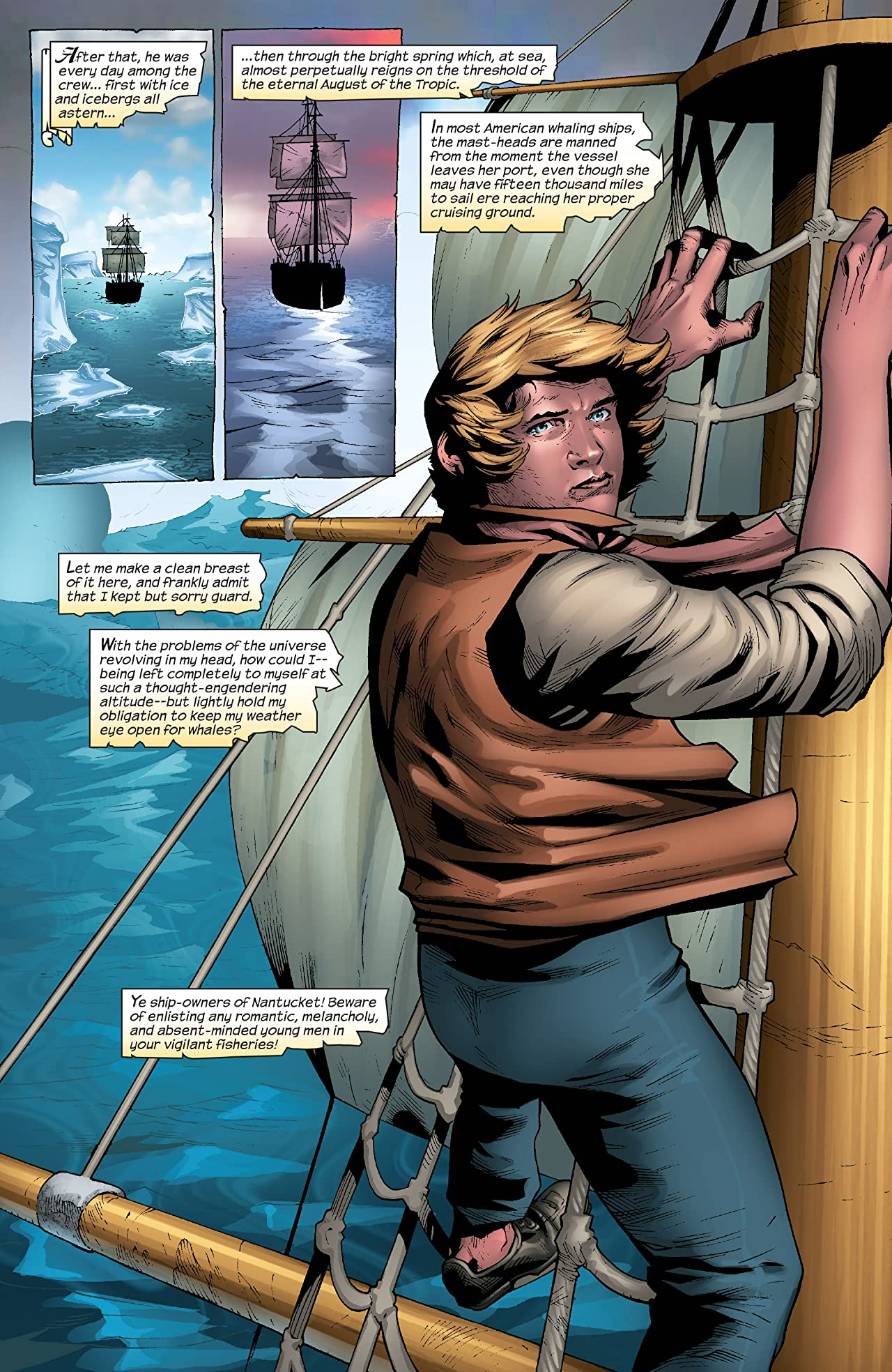 Marvel Illustrated: Moby Dick (2008) #2 (of 6)