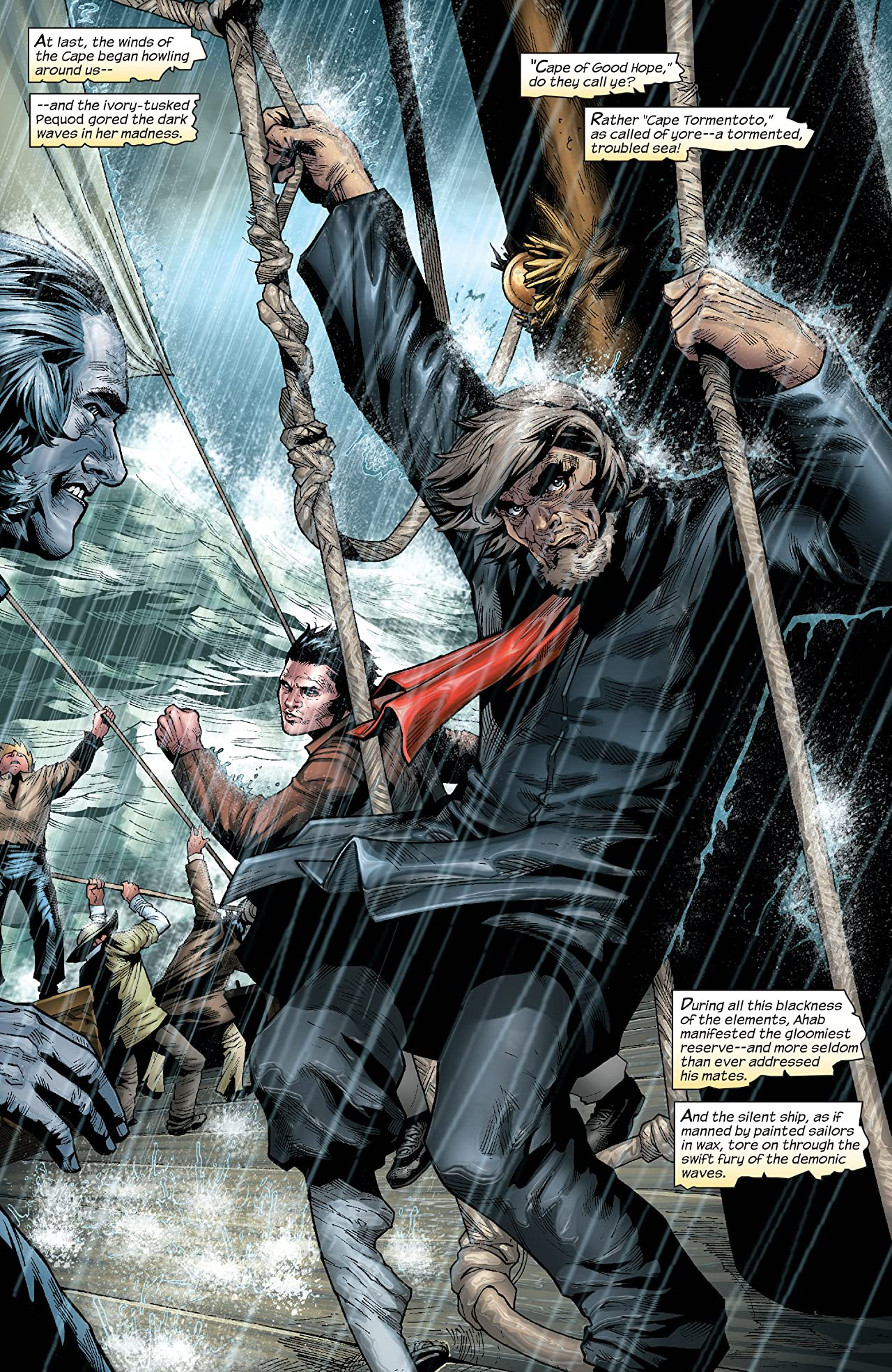 Marvel Illustrated: Moby Dick (2008) #3 (of 6)