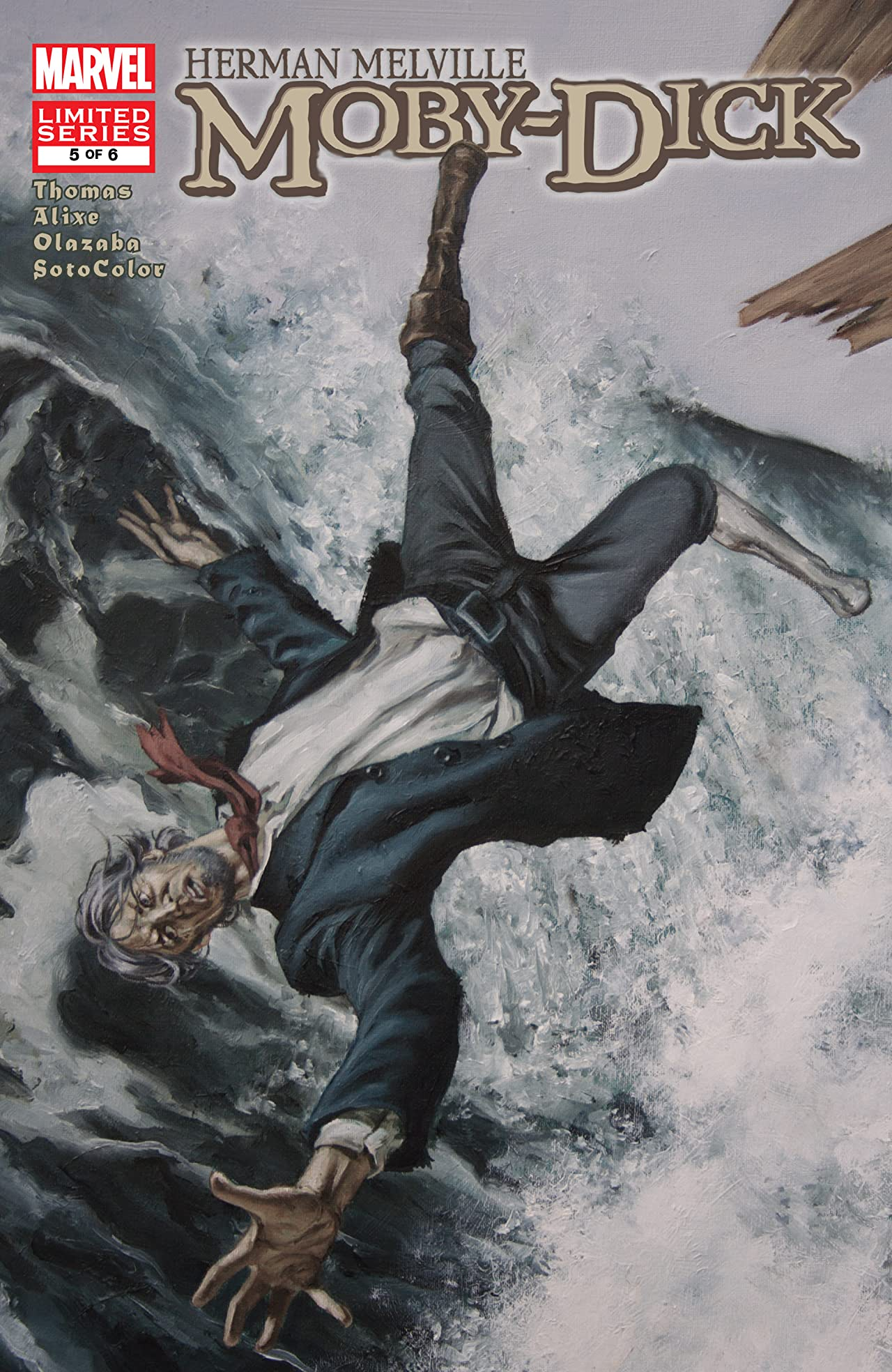 Marvel Illustrated: Moby Dick (2008) #5 (of 6)