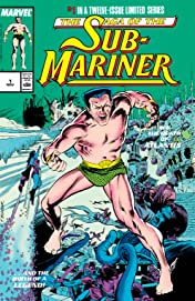 Saga of the Sub-Mariner (1988-1989) #1 (of 12)