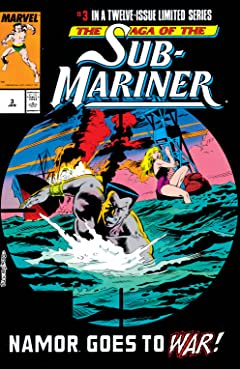 Saga of the Sub-Mariner (1988-1989) #3 (of 12)