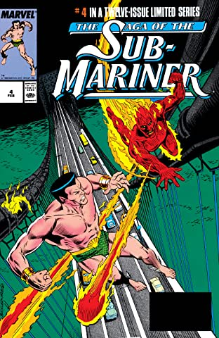 Saga of the Sub-Mariner (1988-1989) #4 (of 12)