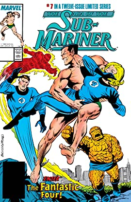Saga of the Sub-Mariner (1988-1989) #7 (of 12)