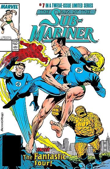 Saga of the Sub-Mariner (1988-1989) #7 (of 12)