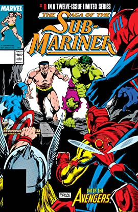Saga of the Sub-Mariner (1988-1989) #8 (of 12)