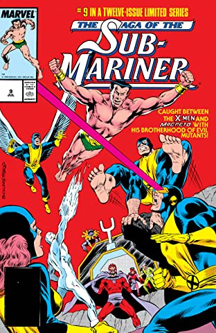 Saga of the Sub-Mariner (1988-1989) #9 (of 12)
