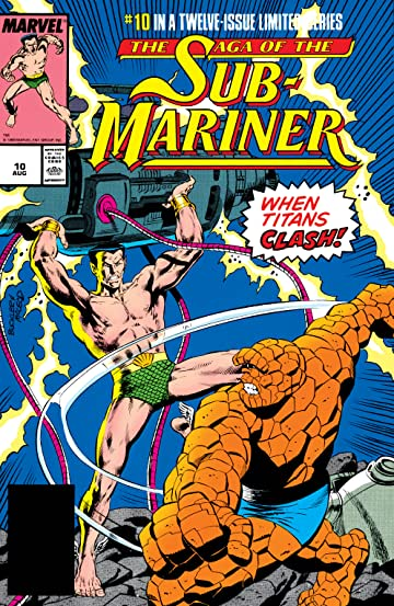 Saga of the Sub-Mariner (1988-1989) #10 (of 12)