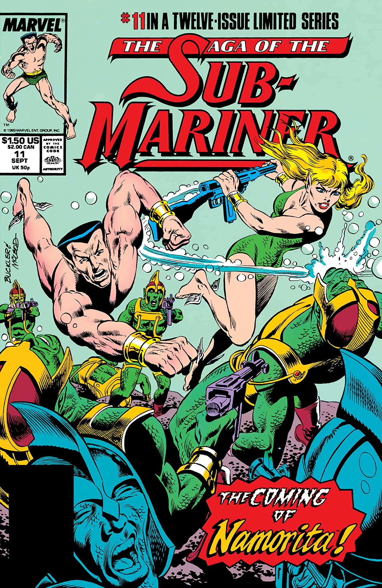 Saga of the Sub-Mariner (1988-1989) #11 (of 12)