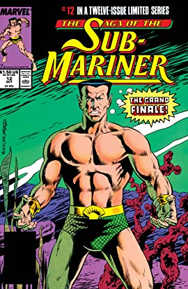Saga of the Sub-Mariner (1988-1989) #12 (of 12)